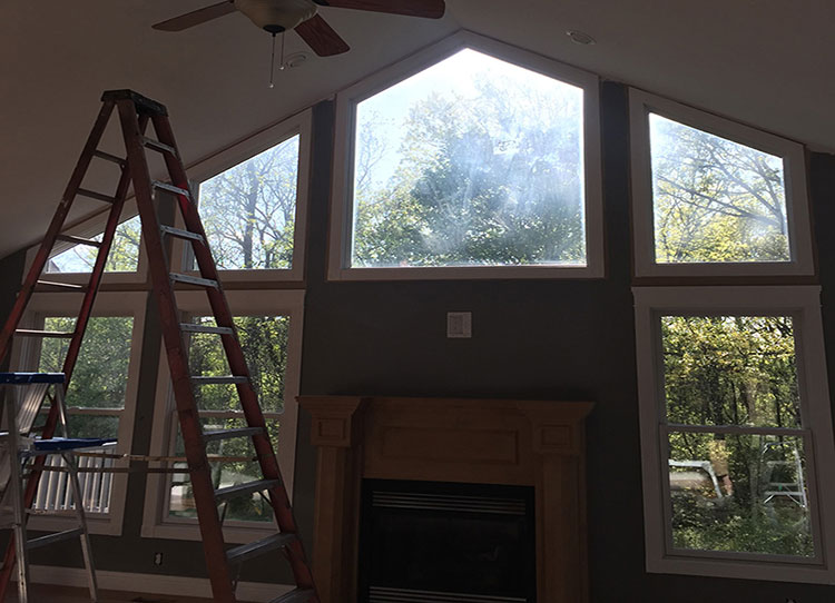 Before | Dirty windows | RCS cleans windows in Franklin County MO