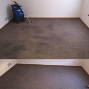 Before and after | Dirty Carpet Restoration | Washington, MO