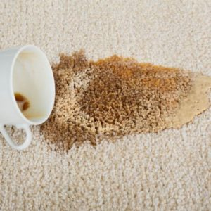 Coffee spilled on carpet | RCS Removes Coffee Stains from Carpet | Washington, MO
